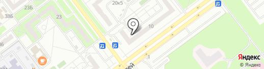 Левобережное, ТСН на карте Ульяновска