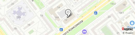 Лунтик на карте Ульяновска