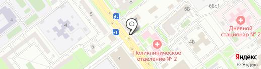 Киоск по продаже яиц на карте Ульяновска