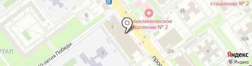 Почта Банк, ПАО на карте Ульяновска
