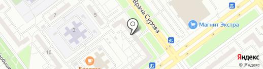 Лор-клиника на карте Ульяновска