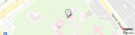 Ульяновское областное бюро судебно-медицинской экспертизы на карте Ульяновска