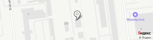 Тавифа на карте Ульяновска