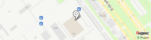 Торгово-оптовая компания на карте Ульяновска