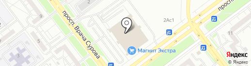 Развивайкин на карте Ульяновска