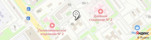Гелиос на карте Ульяновска
