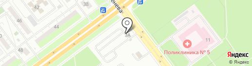 АККО на карте Ульяновска