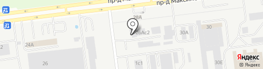 ПЭК на карте Ульяновска