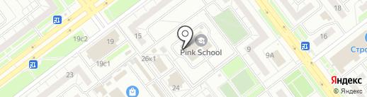 Студия красоты Светланы Шараниной на карте Ульяновска