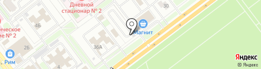 Шиномонтажная мастерская на карте Ульяновска