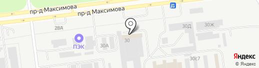 Посудка на карте Ульяновска