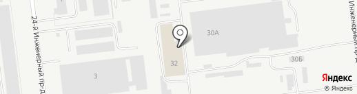 Металл-Сервис на карте Ульяновска