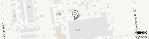 МДМ Стандарт на карте Ульяновска