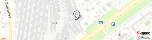 Тонировочный центр на карте Ульяновска