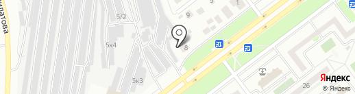 Авто-доп на карте Ульяновска