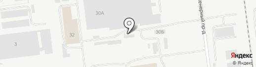 ТЭЦ №2 на карте Ульяновска