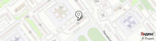 ЭЛЕКТРОМАШ, ЖСК на карте Ульяновска