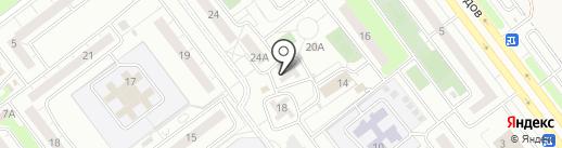 ЖЭУ-7 на карте Ульяновска