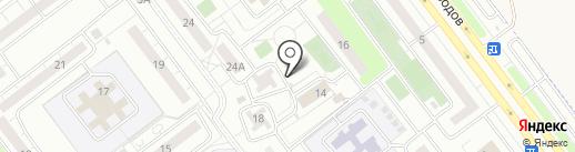 Киоск по ремонту обуви на карте Ульяновска