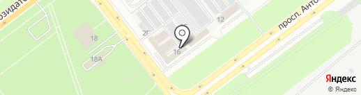 Авто АКБ73 на карте Ульяновска