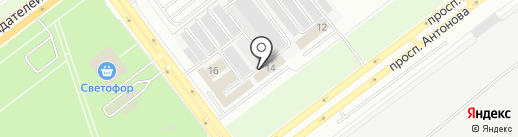 Эксперт-Гарант на карте Ульяновска