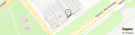 Компания по компьютерному подбору автоэмалей на карте Ульяновска
