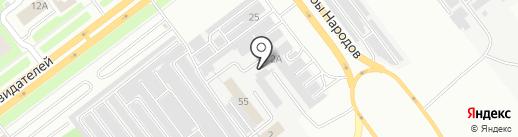 73профнастил.рф на карте Ульяновска