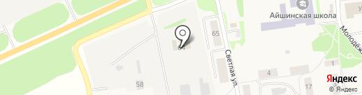 Овощевод на карте Айши