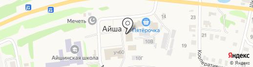 Qiwi на карте Айши