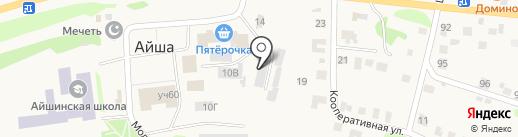 Магазин крепежа и инструментов на карте Айши