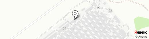 Вектор-М на карте Ульяновска