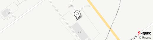 Газель на карте Ульяновска