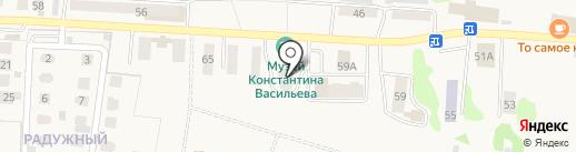 Волга на карте Васильево