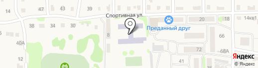 Васильевская кадетская школа №1 на карте Васильево
