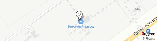 Стальной Першерон на карте Ульяновска