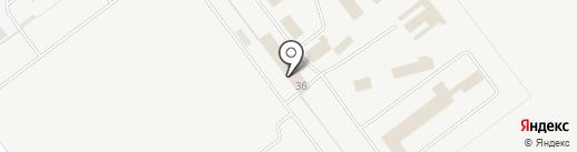 Исправительная колония №9 на карте Ульяновска