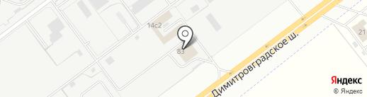 Bazza на карте Ульяновска