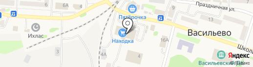 Эссен на карте Васильево