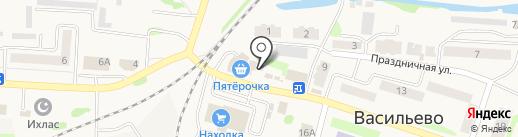 Магазин женской одежды на карте Васильево