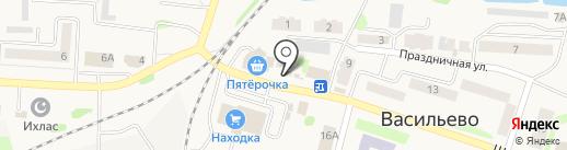 Магазин цветов на карте Васильево
