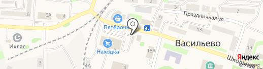 4 сезона на карте Васильево