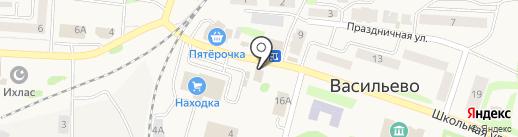 Бэйби Бум на карте Васильево