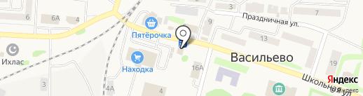 Пенная коллекция на карте Васильево