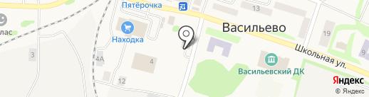 Авто Релакс на карте Васильево