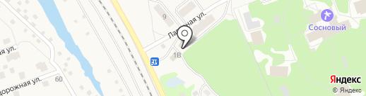 Магазин фруктов и овощей на Лагерной на карте Васильево