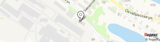Васильевский стекольный завод на карте Васильево