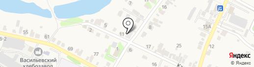 Пятерочка на карте Васильево