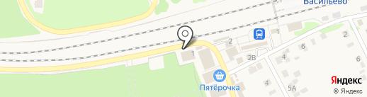 Мастерская на карте Васильево