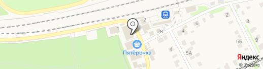 Магазин мяса и колбас на карте Васильево