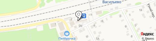 Арыш мае на карте Васильево